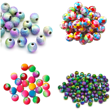 zufällige Perlen Mixe