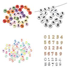 Perlen mit Zahlen